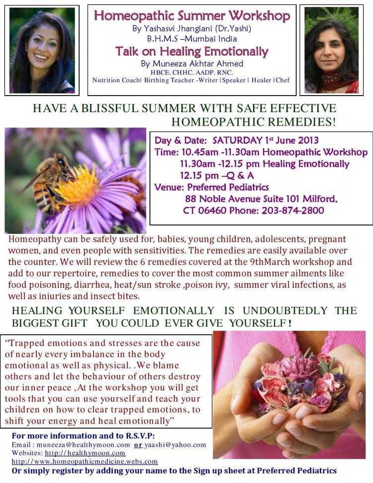 Talk on Healing Emotionally SATURDAY 1st June 2013